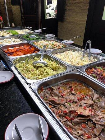 Buffet frio y ensaladas