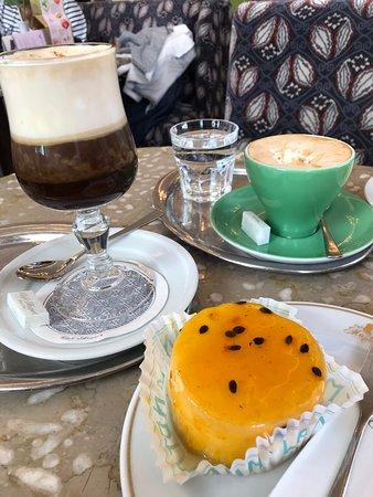 Cafe Mozart Maracuju Cheesecake with Mozart Coffee