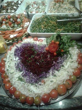 Coração de Minas: Saladas