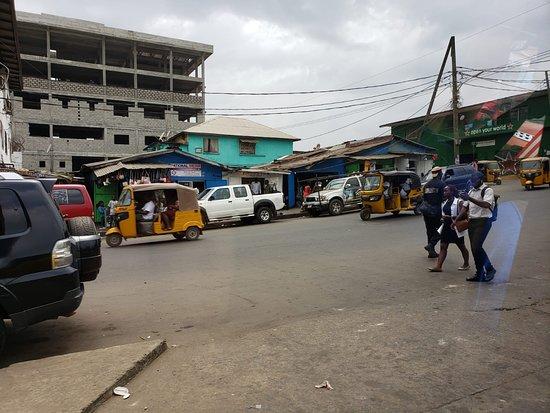 Liberia, Africa.