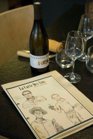 La Table - Cuisinier Caviste: carte des vins