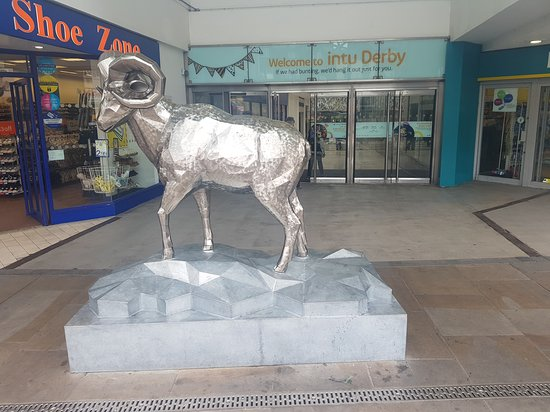 The Derby Ram Statue