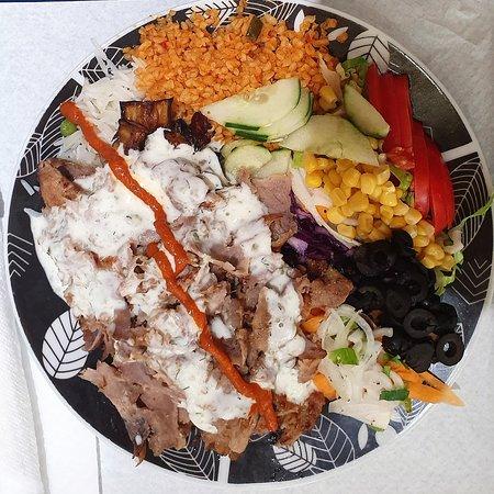Kebab al piatto