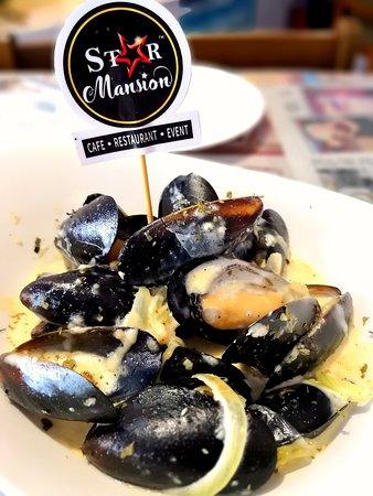 Creamy New Zealand Mussels