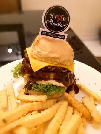 Black Pepper Chicken Burger