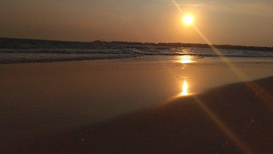 Great sunset and sunrise location.