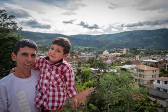 Patate, الإكوادور: Patate, desde El Francés Casa Hospedaje familiar