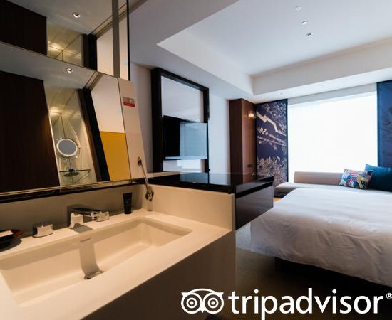 The One King Bedroom at the Hyatt Centric Ginza Tokyo