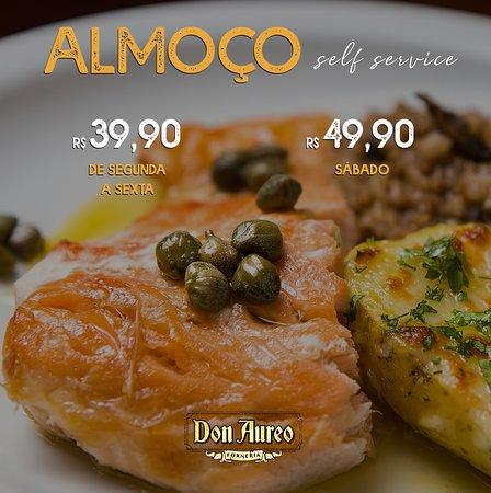 Don Aureo Forneria: Seu sábado tem mais sabor aqui!  Aos sábados servimos salmão e costela recheada como prato principal.   📍 Rua Pernambuco, 1044 - Cascavel.