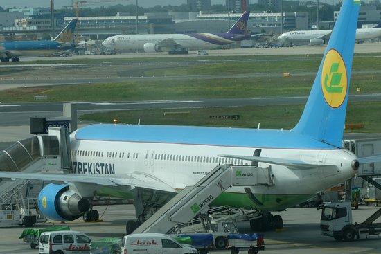 Uzbekistan Airways: Flug FRA-UGC mit B767-300