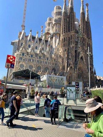 The Metro at La Sagrada Família