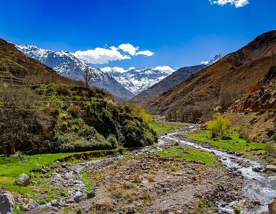 The river Ourika or Oued Ourika is a river of Morocco that rises in the High Atlas, in the eastern part of the massif of Toubkal,