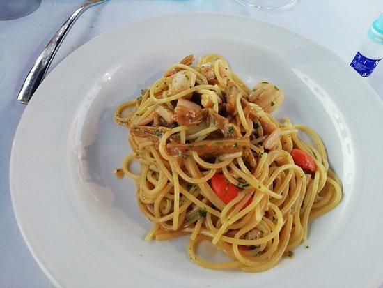 Da Celeste: Spaghetti castraure e capesante