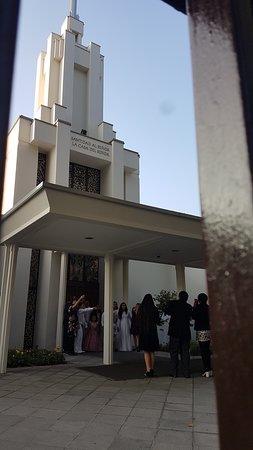Iglesia/templo cristiano a una cuadra y media del hotel