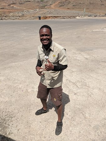 This is Sheldon. He was absolutely brilliant today on our off road jeep safari which eventually ended up in Baby Beach. He was helpful, kind, funny and very entertaining. I cannot recommend this  day out enough we had a lot of fun. If you like more extreme excursions this is definitely for you. Thank you Sheldon for a wonderful day. Be more like Sheldon! 😁