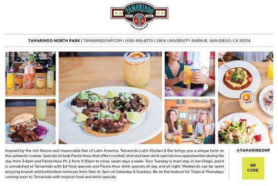 Tamarindo Latin Kitchen and Bar: Local feature of Tamarindo Kitchen + Bar