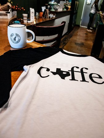 Shirt and mugs available for sale