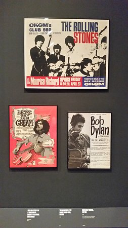 There was also a room filled with original rock concert posters.  Incredible stuff.