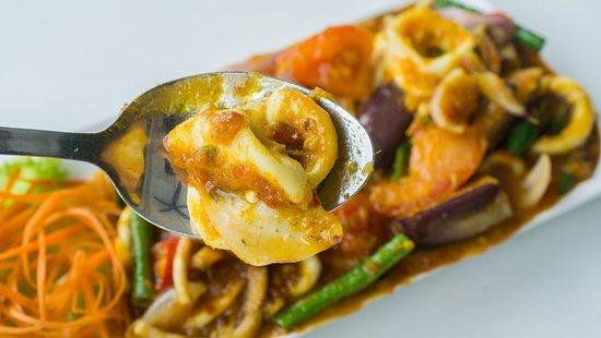 Our Best Seller Sotong masak nyonya (Squid in baba& Nyonya sambal)