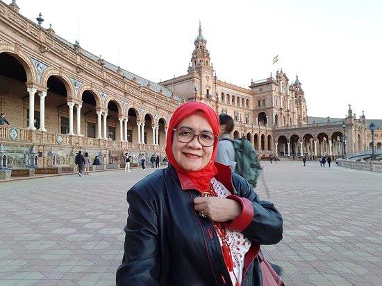 Plaza de. Espana, Seville