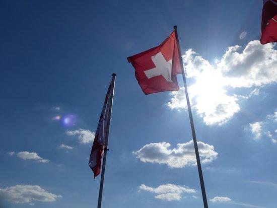 Boncourt, سويسرا: Sommet de la tour de Milandre, Boncout, Suisse