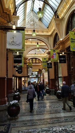 ‪‪Melbourne Bike Tour with Lunch‬: Inside the mall‬
