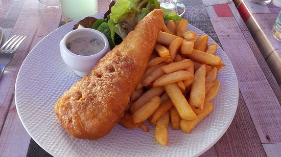 Dienville, Francja: Fish and chips
