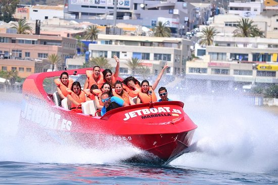 Incroyable tour en jetboat