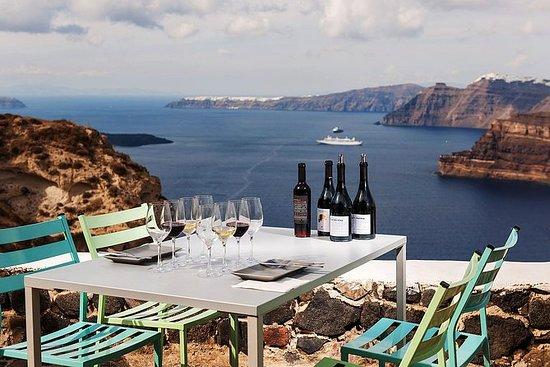 聖托里尼葡萄酒之旅體驗