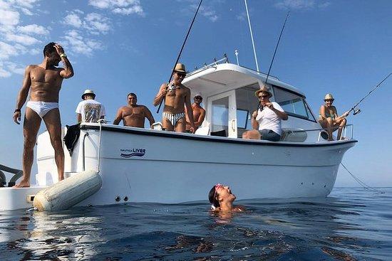 Pesca en barco, excursiones en barco...