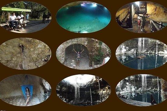 Santa Barbara Cenotes Natación Yucatan