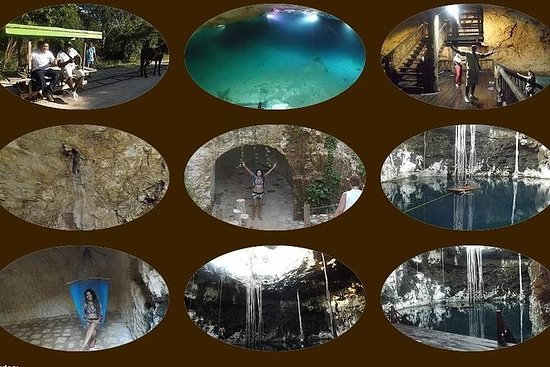 Santa Barbara Cenotes Svømmingsturer...