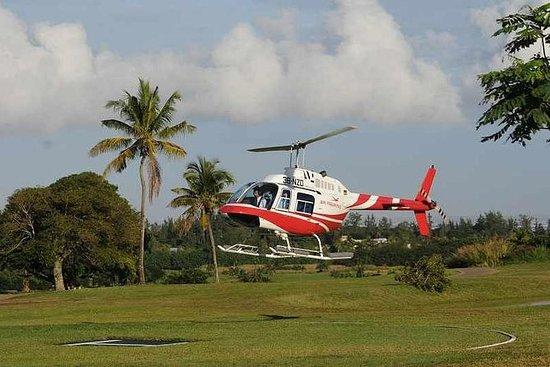 Mauritius Hubschrauberrundflug-Winter...