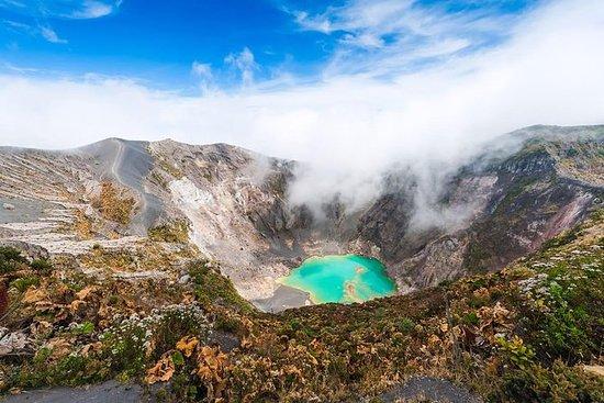 Irazú vulkan nasjonalpark (halv dag).