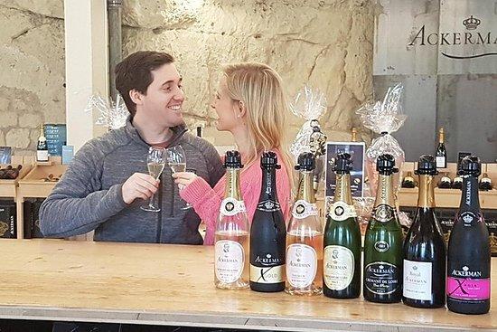 En dag njuter av Loire Valley viner
