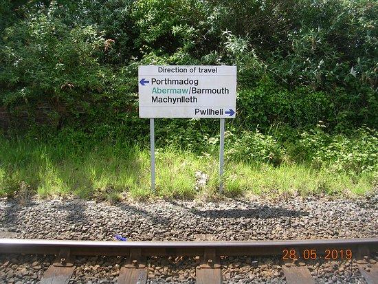 Criccieth Station