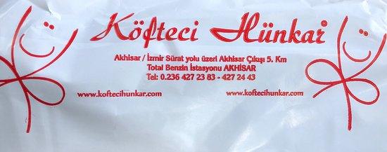 Akhisar, Turcja: Köfteci Hünkar