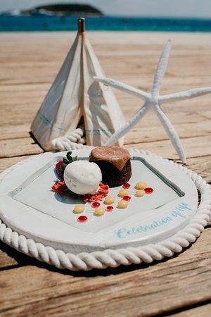 Nikki Beach Mallorca: Chocolate Lava Cake