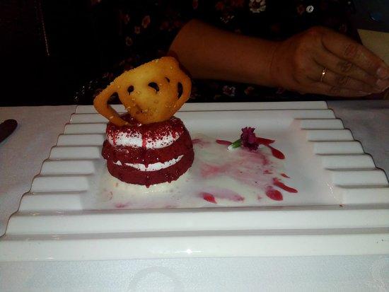 Restaurante Casa Guillermo: Tarta Red Velvet