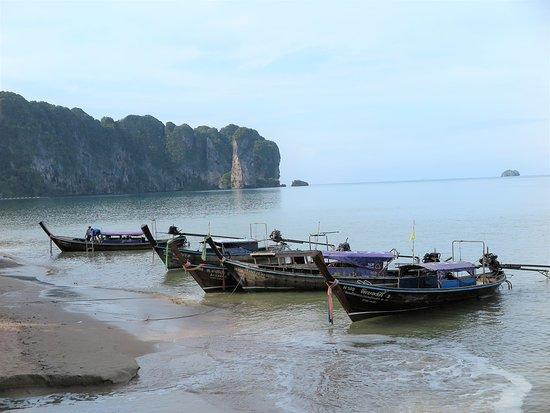 Ao Nang Beach: Lovely scenery from the beach