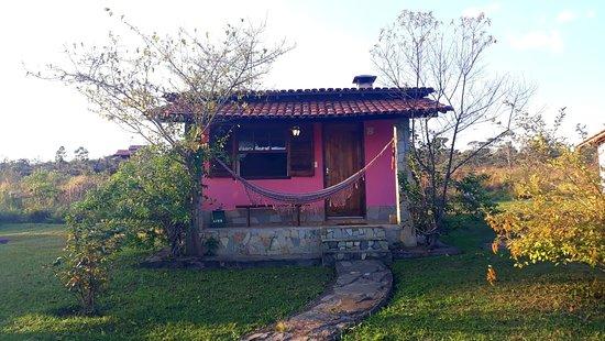 Pousada Ceu e Serra: Chalé superior - 02 rosa
