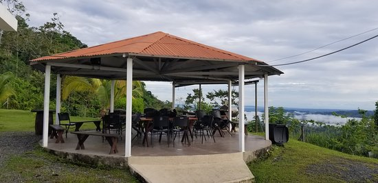 Almirante, פנמה: Gazebo in Restaurant/pool/bar area