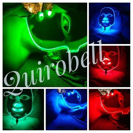 Quirobell.: Terapia con máscara LED