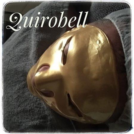 Quirobell.: Tratamiento facial anti edad con velo de colágeno y oro coloidal