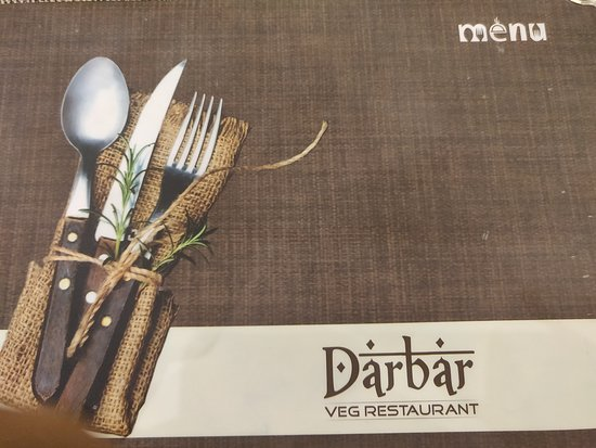 ‪‪Darbar Restaurant‬: LUVD THE MENU‬
