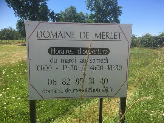 Domaine de Merlet