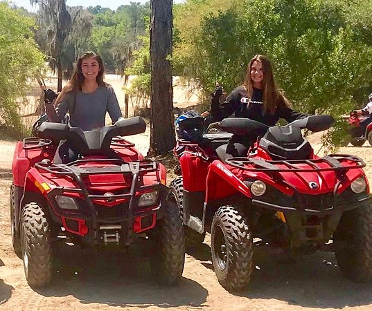 Croom is where all the cute girls are. Come rent some ATV's