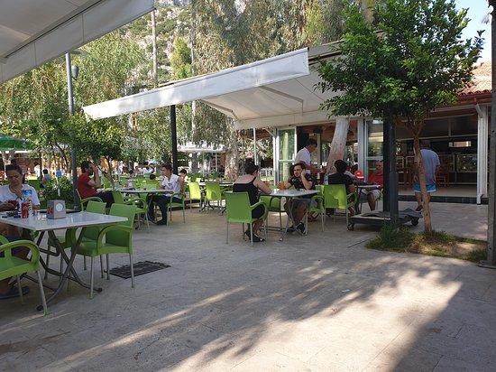 Kas Belediyesi Aile Cay Bahcesi: Another view from the Municipal Cafe/Tea Garden