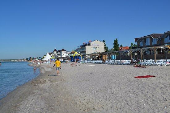 Kobleve, أوكرانيا: Коблево пляжи!