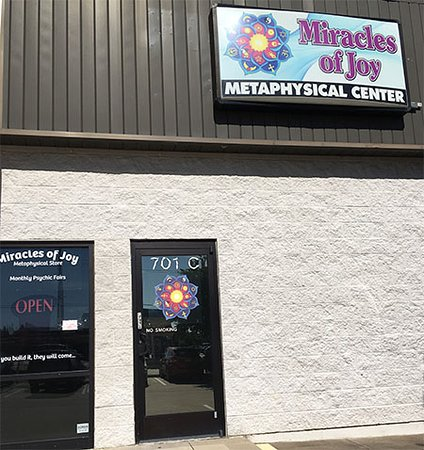 Store Front of Miracles of Joy!